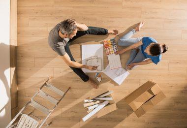 étapes d'un aménagement maison